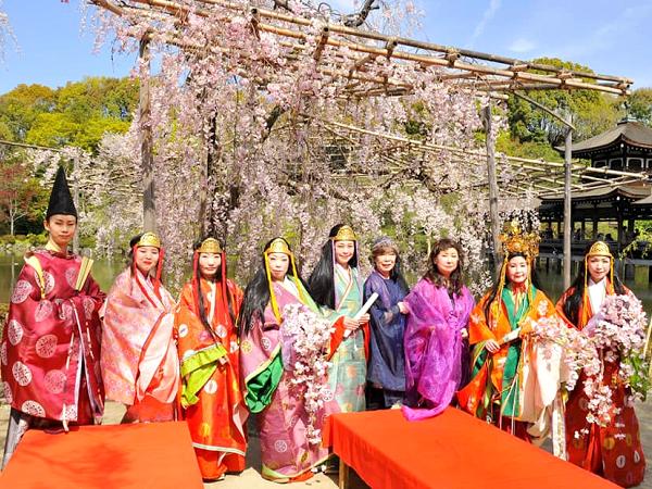 京都平安神宮 十二単